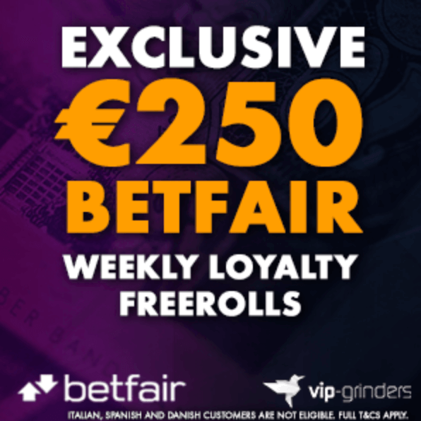 250 betfair weekly freerolls