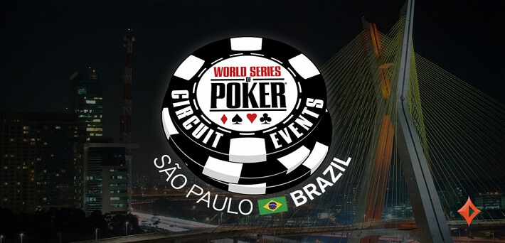 Partypoker partners with WSOP for WSOP Brazil 2017