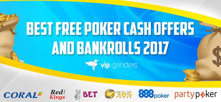 The best poker bonus free poker bankrolls and poker freerolls