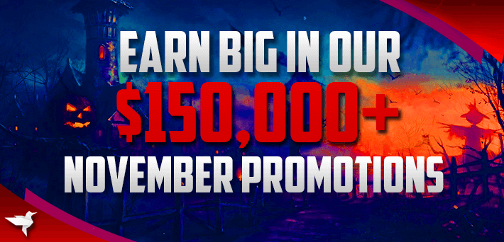 More than $150,000 in Exclusive VIP-Grinders November Promotions