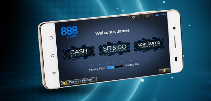 888 Mobile Poker Apps