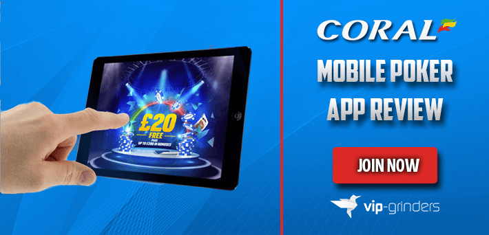 Coral mobile poker apps