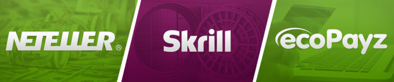 ewallets NETELLER Skrill ecoPazy