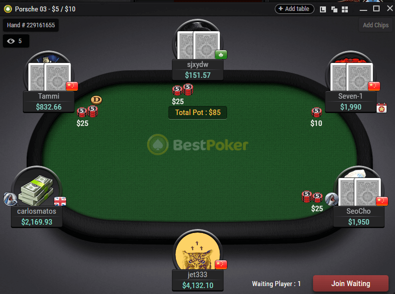 BestPoker-Table
