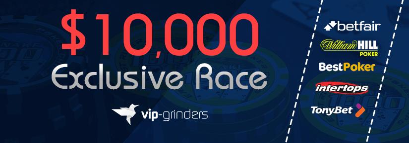 $10,000 Exclusive Race