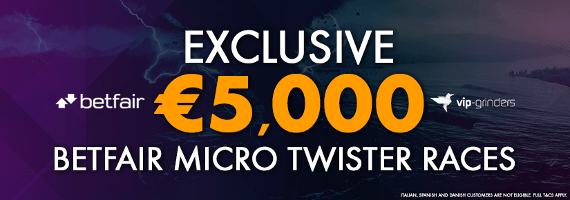 5,000 Exclusive Betfair Micro Twister Races