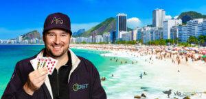 Phil Hellmuth no MILLIONS South America, Rio de Janeiro
