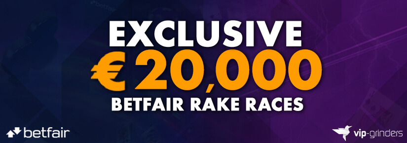€20,000 Exclusive Betfair Rake Races