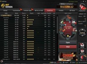 BetKings-Poker-Rakeback-Review_lobby