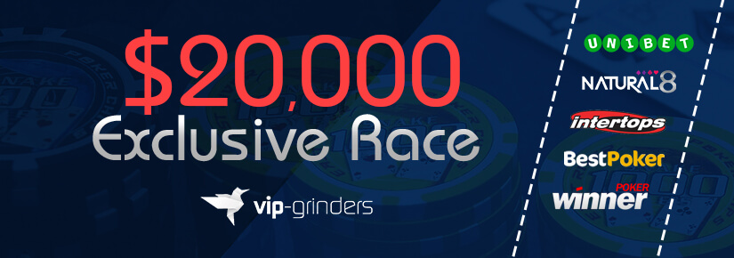 $20,000 Exclusive Race
