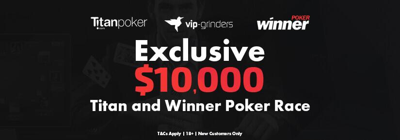 Exclusive $10,000 Titan & Winner Races