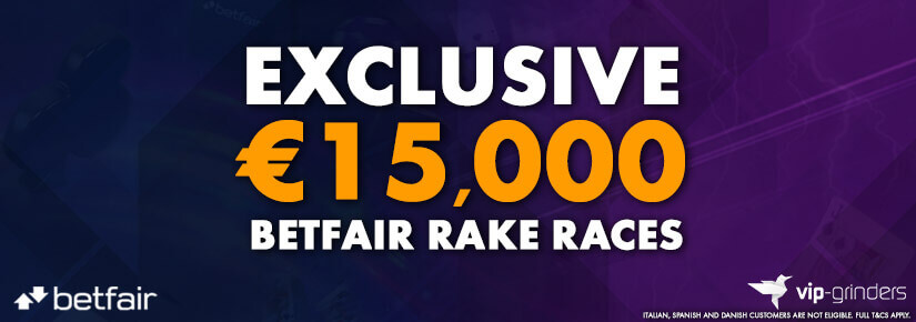 Exclusive €15,000 Betfair Races